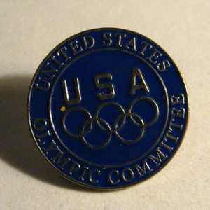 United States Olympic Committee Lapel Pin